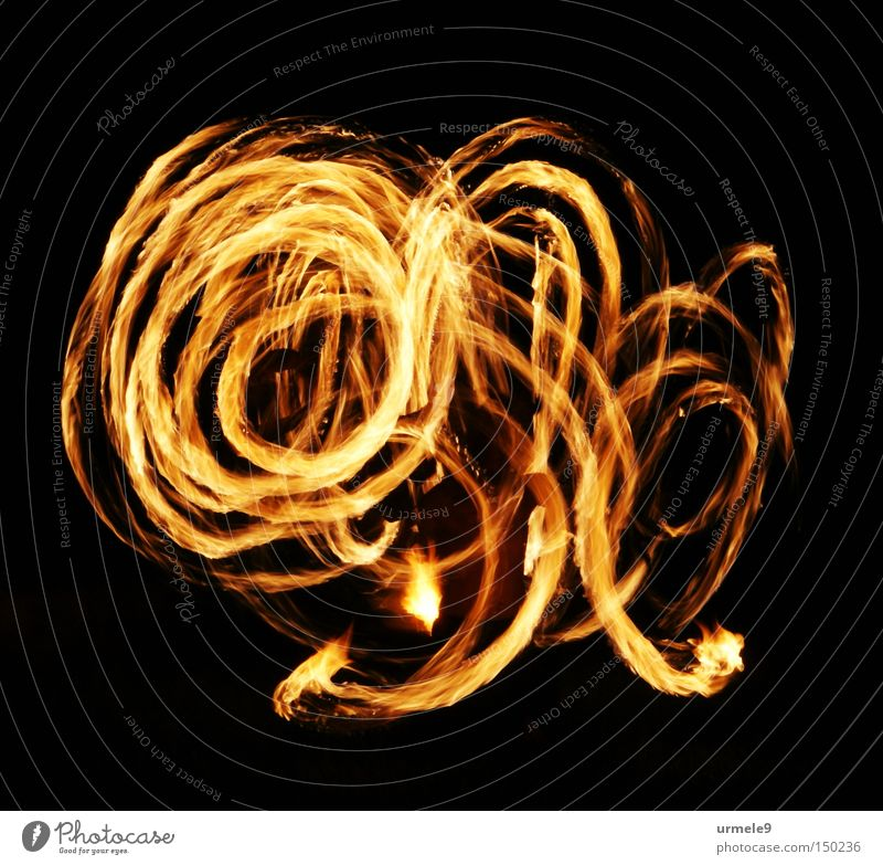 Red Movement Dance Blaze Tracks Part Flame Spiral