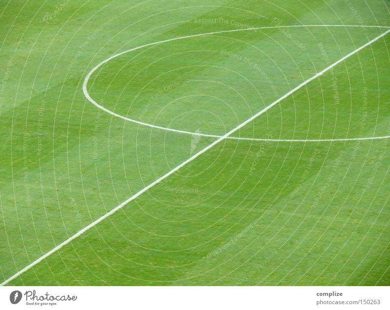 Football without a ball, that's how...? Places Sporting grounds Football pitch Stadium Line Center circle Sports Geometry Ball sports Green Football stadium
