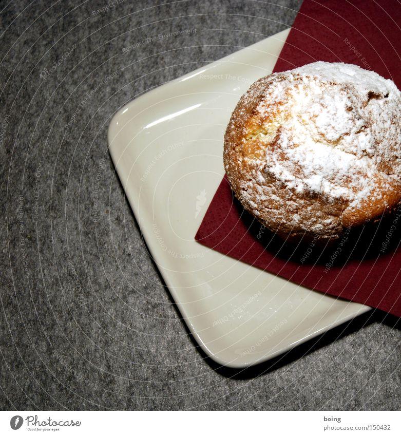 Joy Birthday Cake Baked goods Muffin Serviette Felt Confectioner`s sugar
