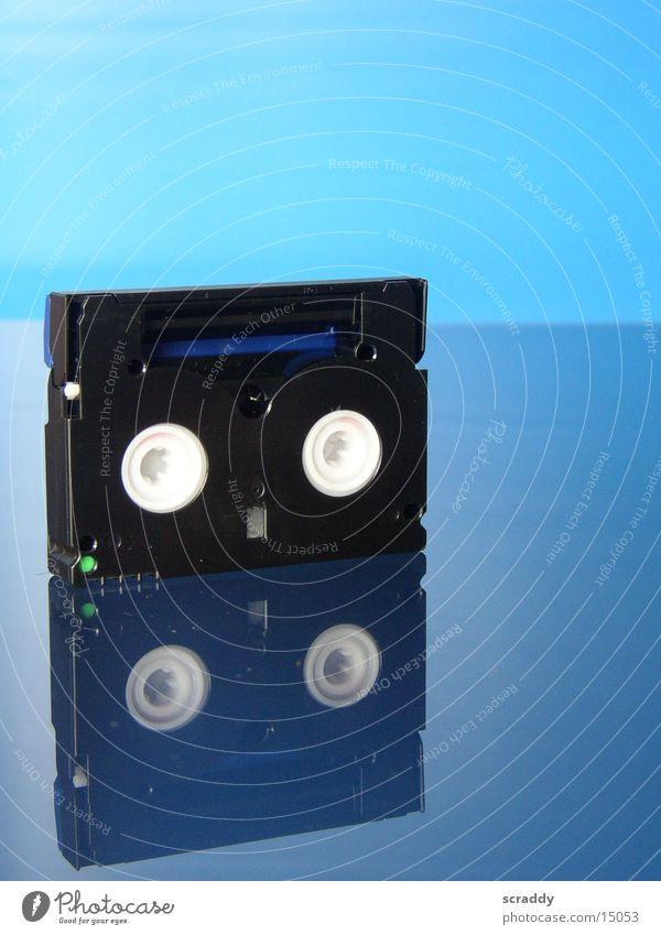 Blue Video Tape cassette Entertainment Video cassette
