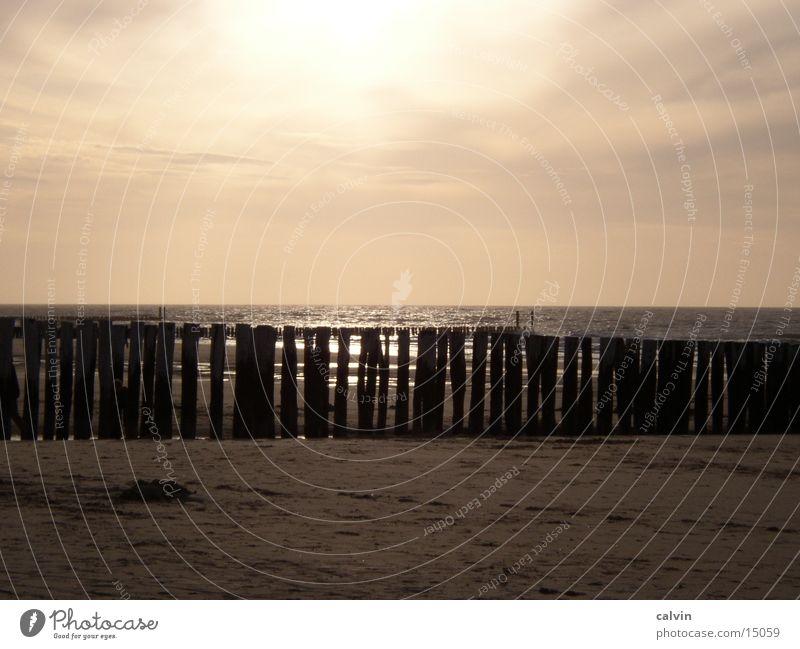 Beach Clouds North Sea