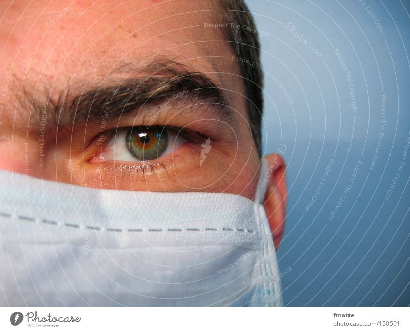 physician Doctor Eyes Health care Healthy Looking Concentrate Science & Research Mask