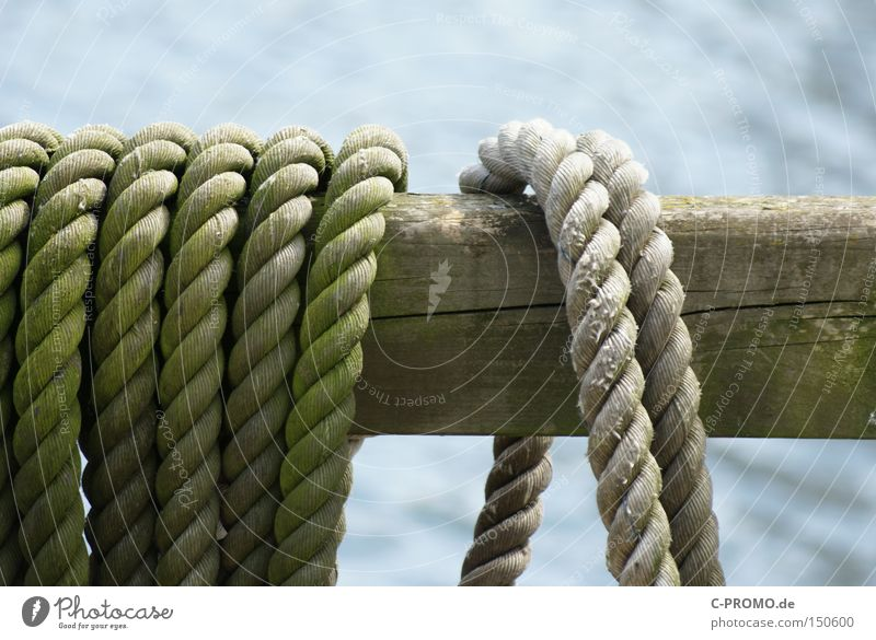 Once upon a time, two ropes... Rope Fastening Joist Harbour Watercraft Maritime Firm Detached Craft (trade)