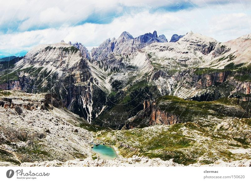 Vacation & Travel Mountain Italy Alps Climbing Alpine pasture
