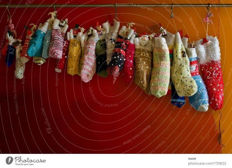 Beautiful Christmas & Advent Wall (building) Style Feasts & Celebrations Exceptional Lifestyle Design Decoration Cute Uniqueness Creativity Digits and numbers