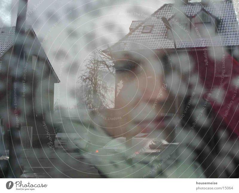 GIRL Woman Fog Art Human being Image Rain
