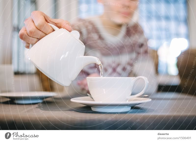 tea time Beverage Drinking Hot drink Tea Water Lifestyle Elegant Style Design Joy Harmonious Leisure and hobbies Playing Trip Adventure Freedom Table Kitchen
