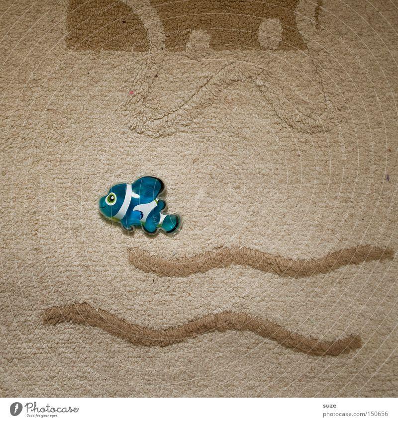 Blue Joy Style Funny Swimming & Bathing Infancy Decoration Lifestyle Fish Kitsch Dry Animal figure Bath mat