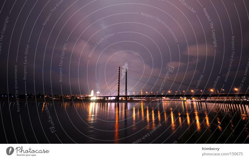 City Black Yellow Dark Emotions Style Moody Architecture Design Elegant Large Transport Lifestyle Bridge Logistics River