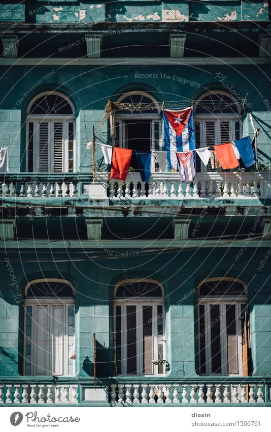 cuban colours [5] Vacation & Travel Tourism City trip Havana Cuba South America Central America Caribbean Town Capital city Port City Downtown Old town Deserted