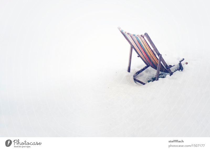 Sudden Winter Book Relaxation Swimming & Bathing Leisure and hobbies Vacation & Travel Beach Snow Armchair Beach bar Ski run Closing time Landscape Climate