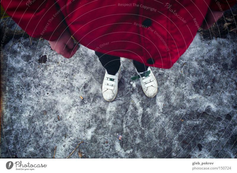 slick Hand Slick Trash Fashion Legs Footwear Red Joker Human being Things Colour