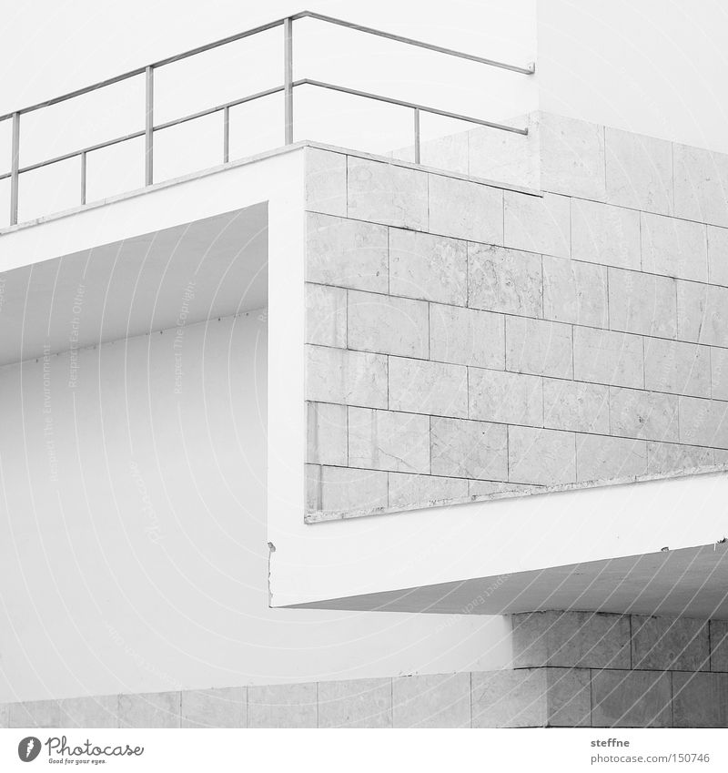 letter Architecture Letters (alphabet) Latin alphabet Handrail Modern Town Wall (barrier) Design White Detail