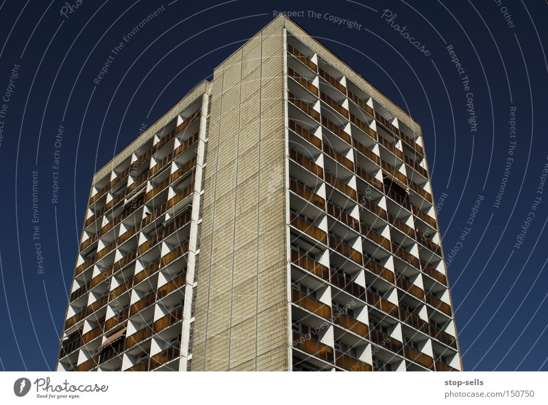Sky Blue City Cold Window Gray Concrete Arrow Universe Steel Direction Balcony Prefab construction Colossus