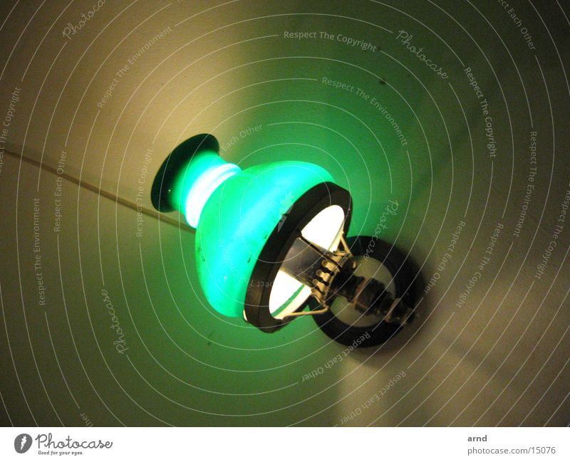 Green Lamp Crazy Living or residing Umbrella