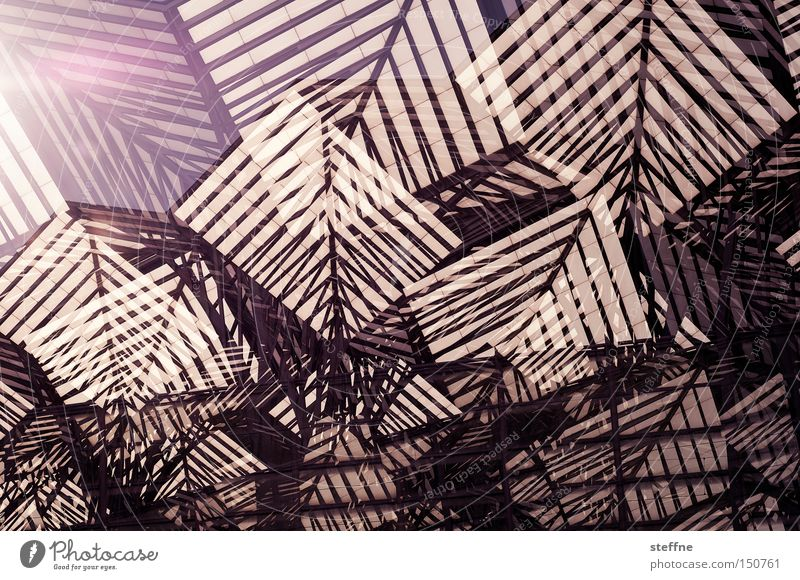 Mountain Line Modern Abstract Chaos Muddled Double exposure Cubism