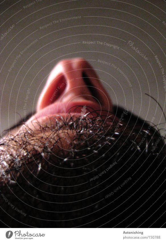 Human being Man Black Face Mouth Nose Perspective Lips Facial hair Beard hair Nostril