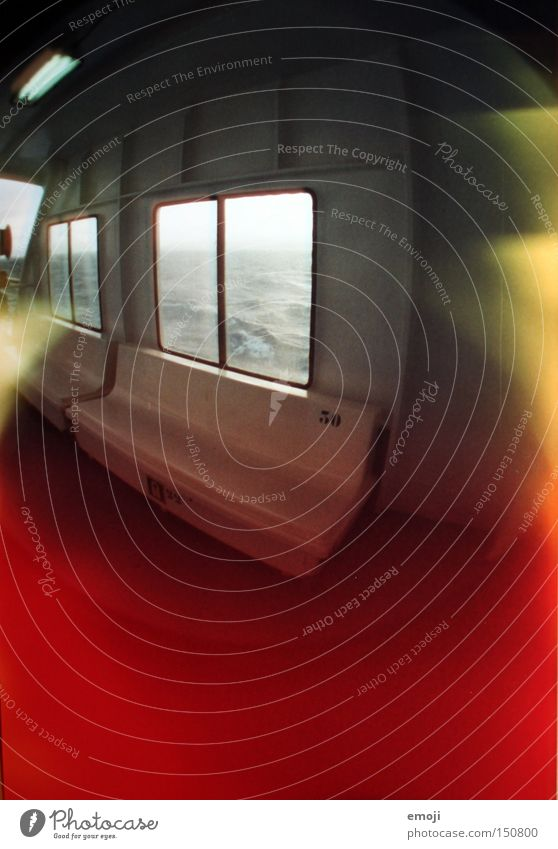 Water Ocean Colour Window Watercraft Logistics Analog Navigation Video camera Exposure Ferry