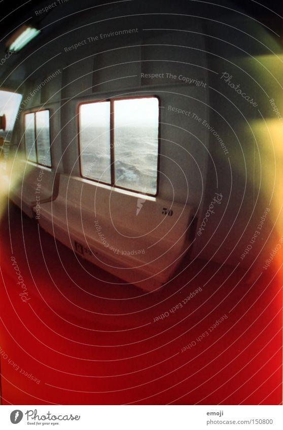 Water Ocean Colour Window Watercraft Logistics Analog Navigation Video camera Exposure Ferry