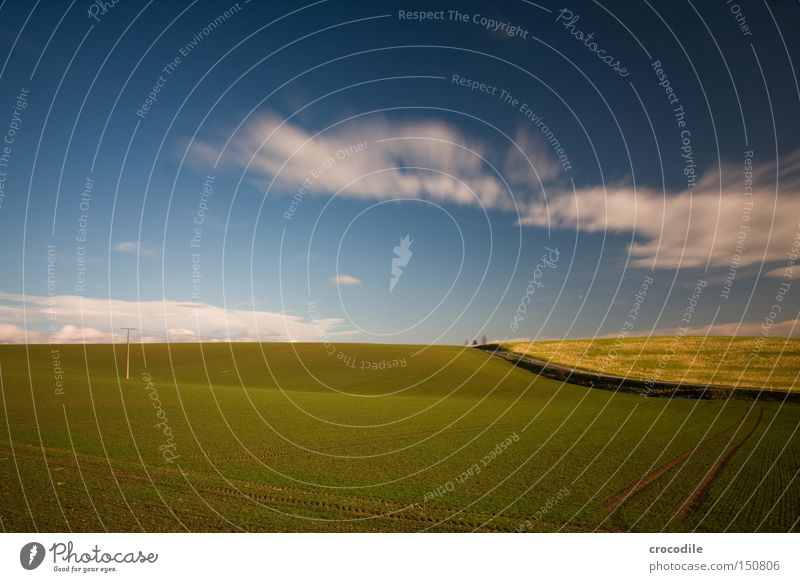 Green Blue Plant Street Field Electricity Agriculture Agriculture Electricity pylon Ecological Furrow Sowing