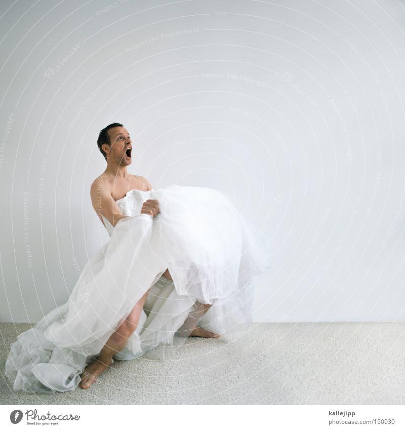 Woman Man Joy To talk Dancer Dance event Crazy Dress Vacation & Travel Whimsical Scream Surprise Humor Ring Bride