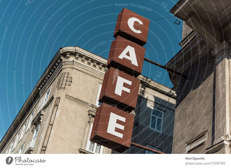 Café Heine has moved (the sign is not) Vacation & Travel Tourism City trip Restaurant Vienna Austria Downtown Old town House (Residential Structure) Building