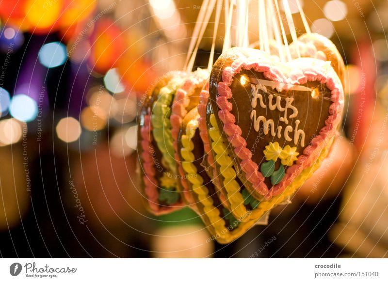 Beautiful Joy Love Heart Sugar Kissing Fairs & Carnivals Candy Caresses Icing Gingerbread heart