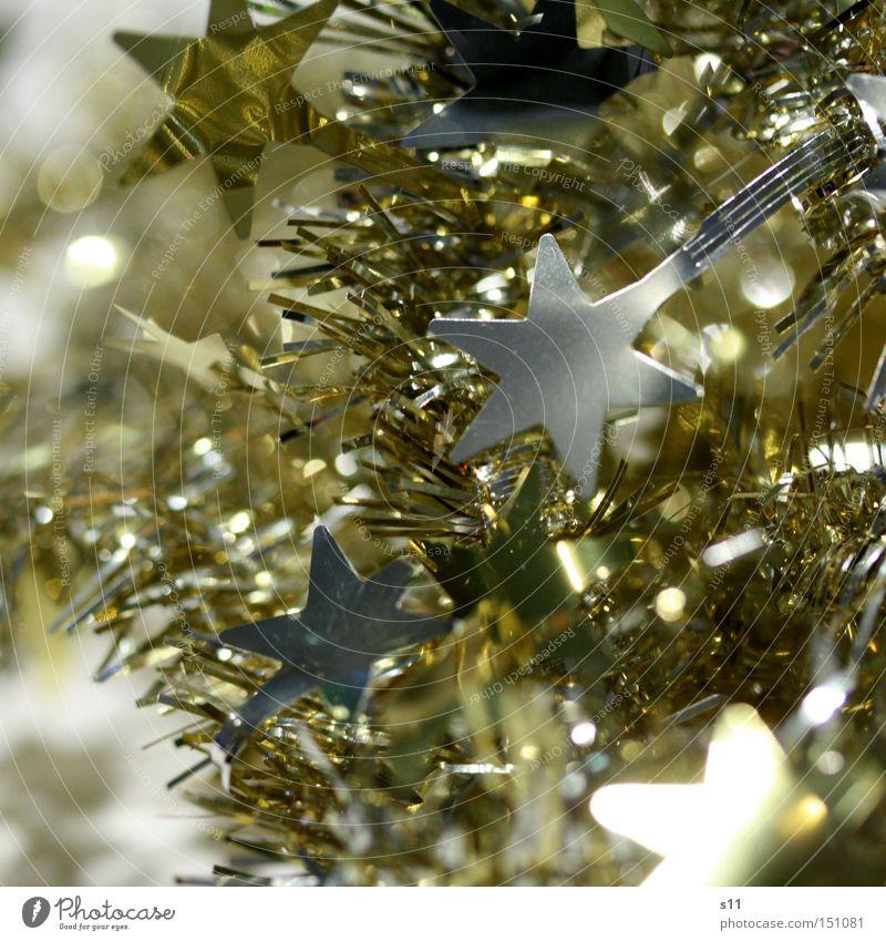Christmas & Advent Winter Lamp Feasts & Celebrations Glittering Gold Star (Symbol) Decoration Silver Glimmer Star of Bethlehem
