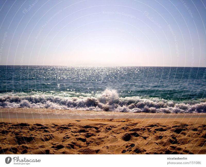 Sky Ocean Blue Summer Joy Beach Sand Power Coast Waves Wet Horizon Force Speed Action Portugal