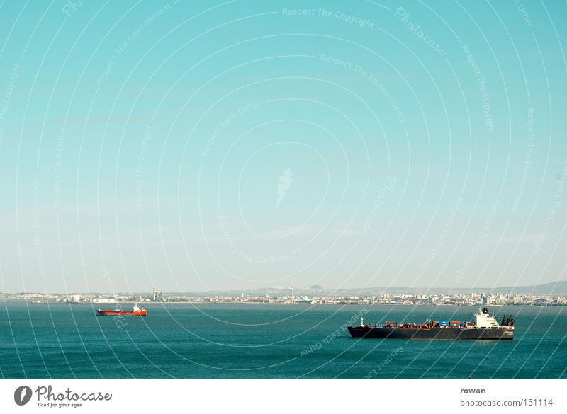 Ocean Lake Watercraft Logistics Trade Navigation Oil tanker Container ship Sea route