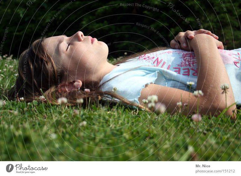 Child Calm Relaxation Dream Sleep Break Peace Trust Meditation Sunbathing Peaceful Lunch hour