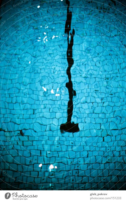 Schwimmbad. Water Blue Sports Waves Weather Drops of water Things Russia Siberia