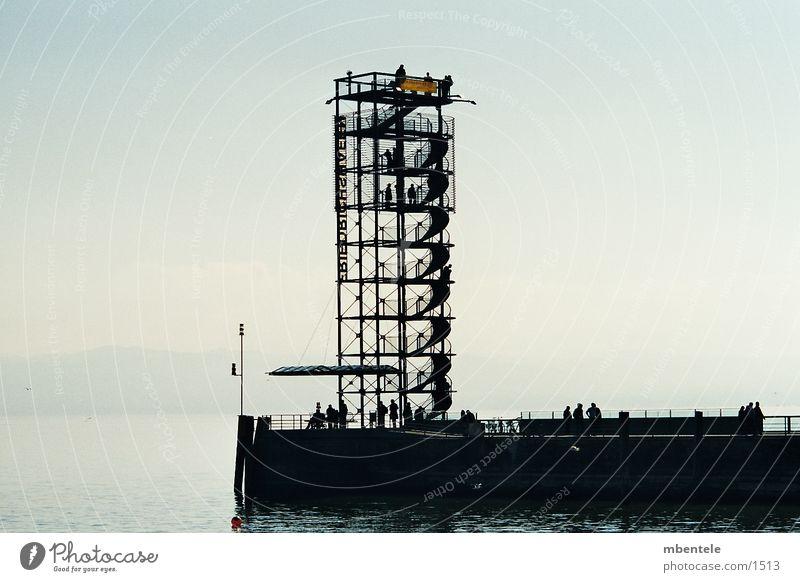 lookout tower Platform Tourist Architecture Looking Vantage point