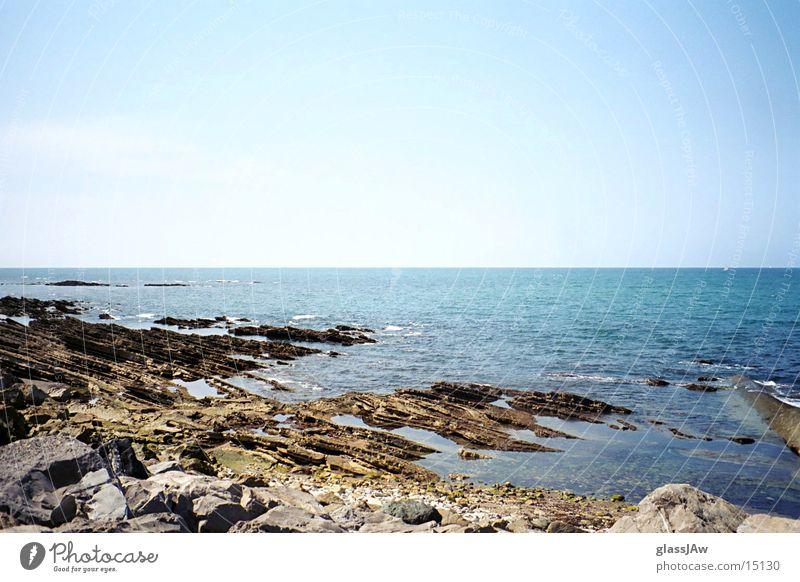 Water Ocean Beach Stone France Bay