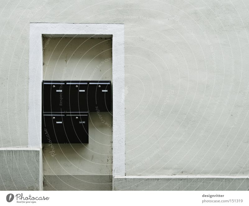 Please only by mail ... House (Residential Structure) Door Entrance Mail Email Mailbox Contact Communicate Anonymous Faceless Impersonal To distance Dismissive