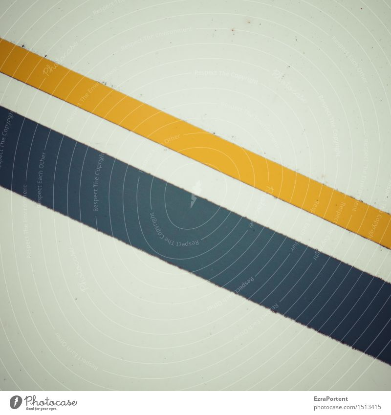\\ Metal Sign Signs and labeling Line Stripe Blue Yellow Design Colour Advertising Background picture Illustration Graph Graphic Dirty Tilt Diagonal