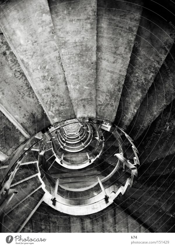 @ Stairs Round Circle Staircase (Hallway) Snail Rotate Banister Tall Ascending Above Concrete Architecture as of