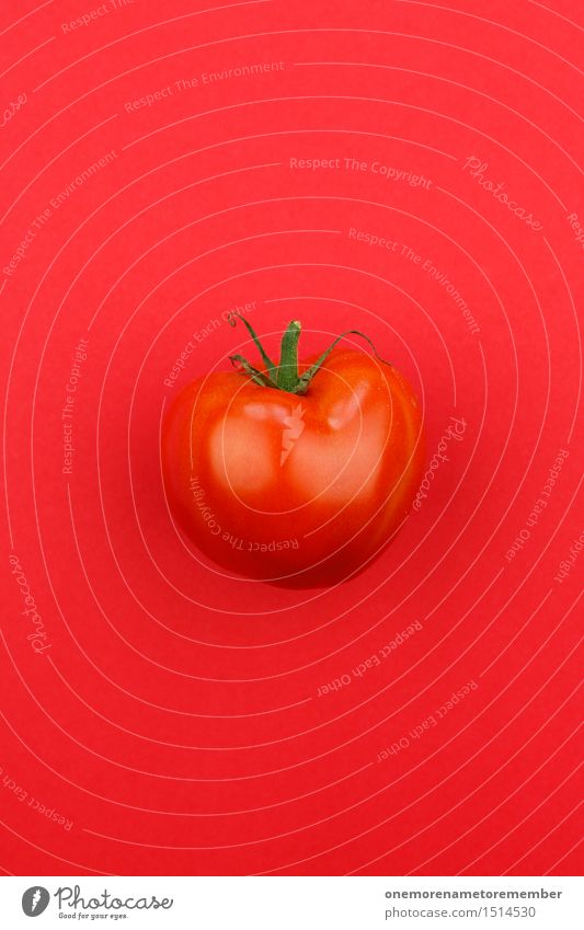 Jammy tomato on red Art Work of art Esthetic Tomato Tomato sauce Tomato salad Tomato juice Red Delicious Healthy Healthy Eating Gaudy Multicoloured Colour photo