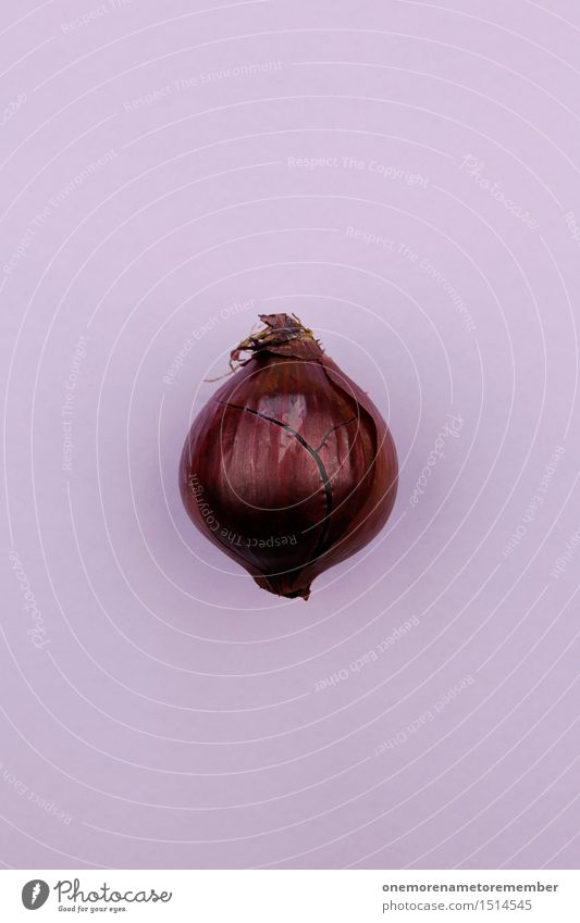 Jammy onion on purple Art Work of art Esthetic Onion Onion cakes Onion skin Violet Organic produce Vegetable Herbs and spices Delicious Healthy Healthy Eating