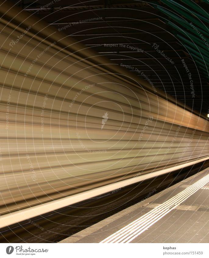 > Railroad Freight train Freight car Goods Platform Train station Speed Passage Stripe Transport sbb