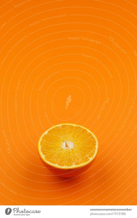 Jammy Orange on Orange Art Work of art Esthetic Orange juice Orangery Orange peel Orange tree Orange slice Colour Gaudy Fruit Delicious Vitamin C Vitamin-rich
