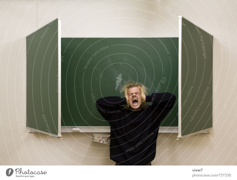 Man School Fear Signs and labeling Education Scream Student Human being Panic Teacher Musical notes Grade (school level) Patient Endurance Classroom Culture