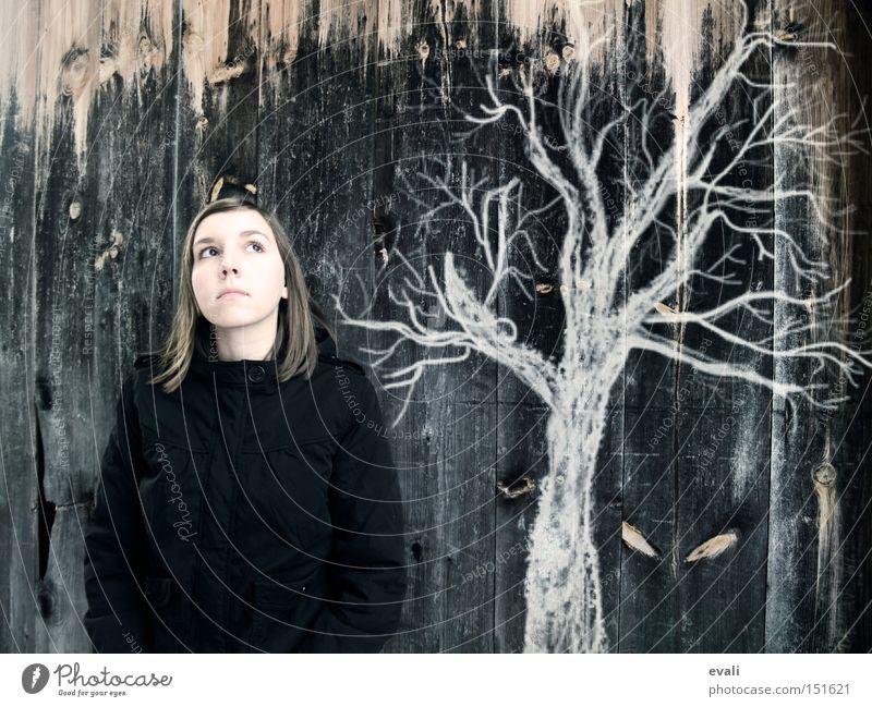 On a besoin de quelqu'un qui écoute Portrait photograph Tree Wood Woman Audience ponder