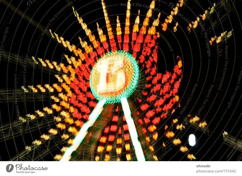 Joy Dark Head Lighting Fairs & Carnivals Ferris wheel Christmas Fair Multicoloured Horse's head