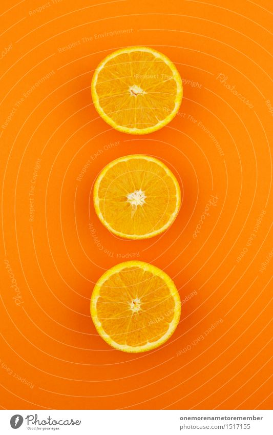 Jammy Orange Triple on Orange Art Work of art Esthetic 3 Fashioned Decoration Design Sliced Multicoloured Gaudy Creativity Vitamin-rich Vitamin C Delicious
