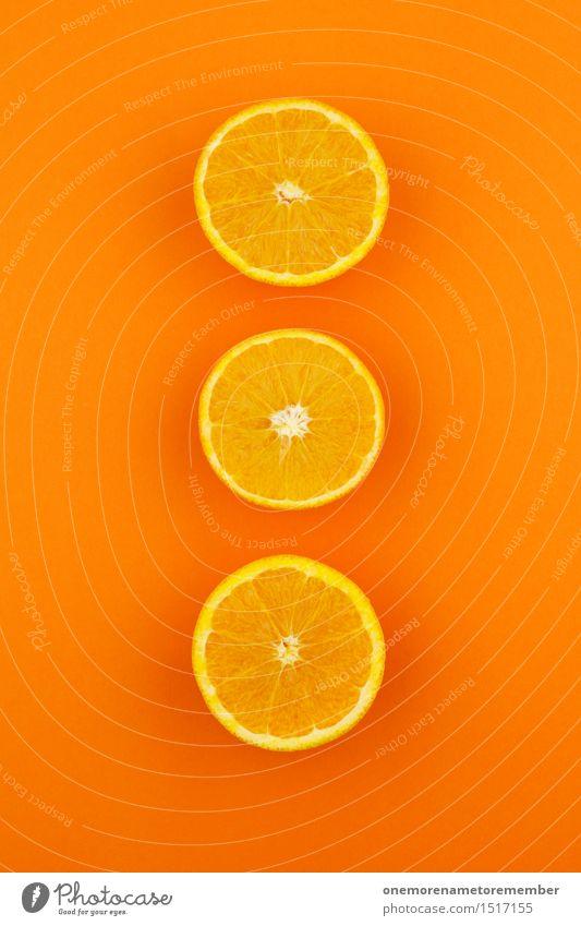 Jammy Orange Triple on Orange Art Work of art Esthetic 3 Fashioned Decoration Design Sliced Multicoloured Gaudy Creativity Vitamin-rich Vitamin C Delicious