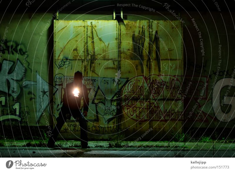 Human being Door Search Gate Discover Workshop Criminal Research Flashlight Crime scene Fire wall Pursuit race