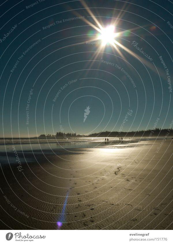 Sun Ocean Beach Far-off places Warmth Island Cute Canada Low tide Vancouver Island