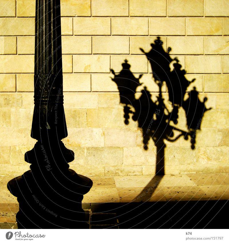 Wall (building) Lantern Steel Street lighting Self portrait Pole