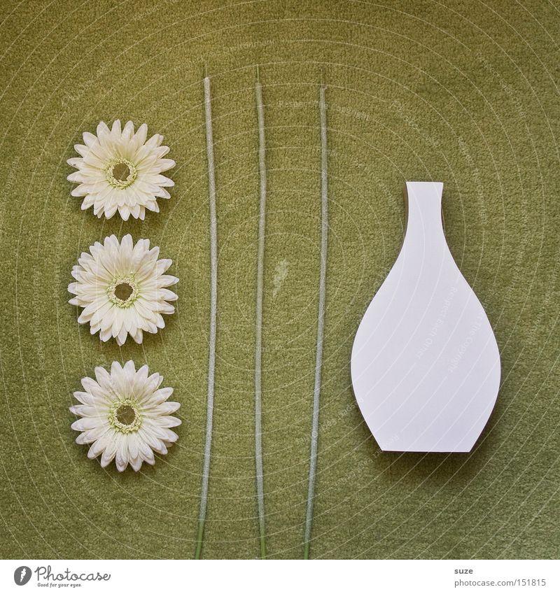 Green White Flower Blossom Style Wood Art Lifestyle Design Arrangement Decoration Simple Floor covering Dry Vase Carpet